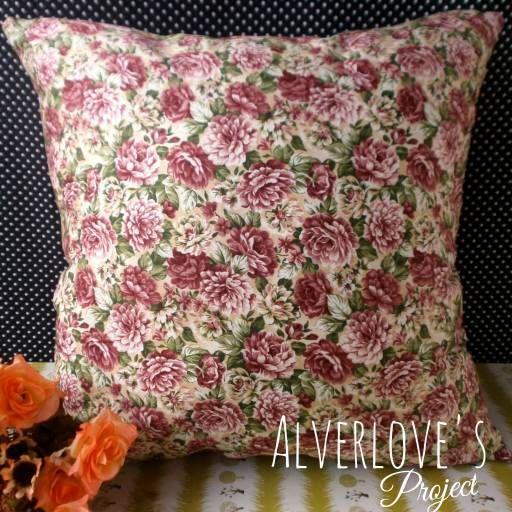 Jual Blossom 02 Shabby chic sarung bantal katun jepang (Cover Only) - Alverlove's Project | Tokopedia