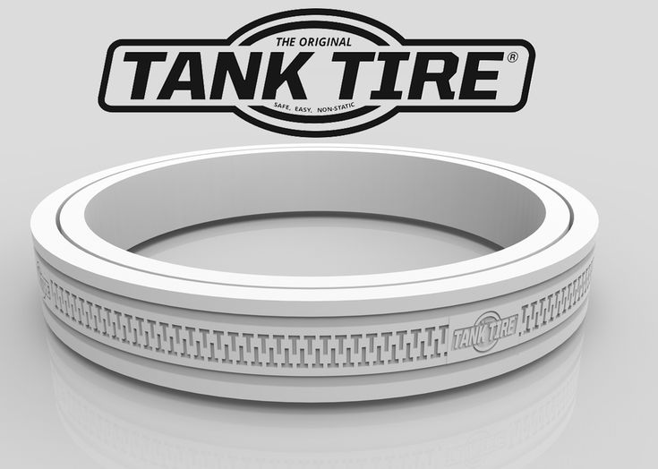 Tank Tire® is the ONLY product on the market that fits the base of 10, 11, 15, 20, 30, & 40 lb propane tanks  to eliminate rust rings, prevent surface damage, add safety, stabilize your tank, is non-skid with UV protectant and is non-electrostatic.