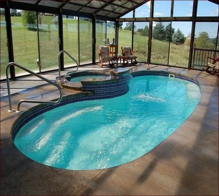 Enclosed Inground Swiming Pool Designs