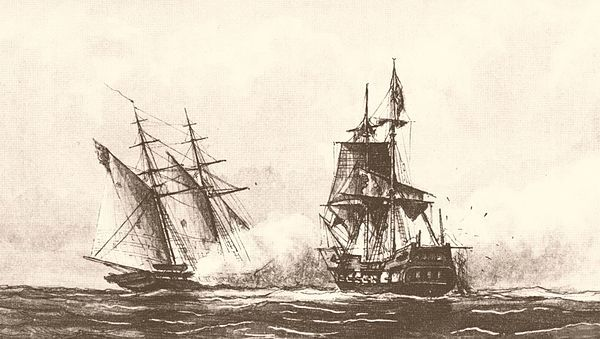 First Barbary War. Pirates. Explains a lot