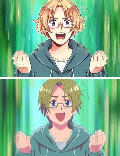 Hetalia characters are 500% cuter in fanart. Sorry, Studio Deen.<i think they are perfect the way they are
