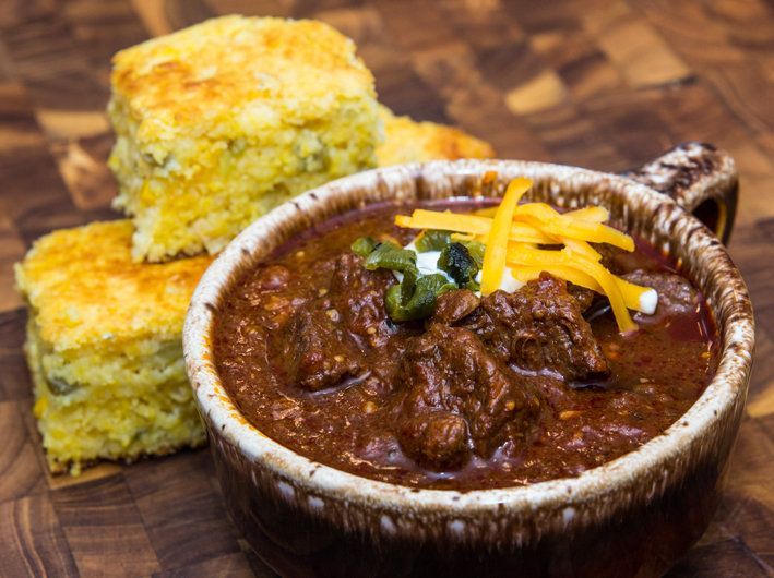 ... Texas Chili on Pinterest | Fried Chicken Legs, Smoked Beef and Chili