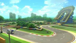 Mario Circuit (GBA) Screenshot