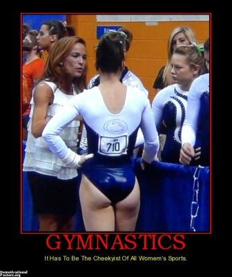 Womens Gymnastic Butt 34