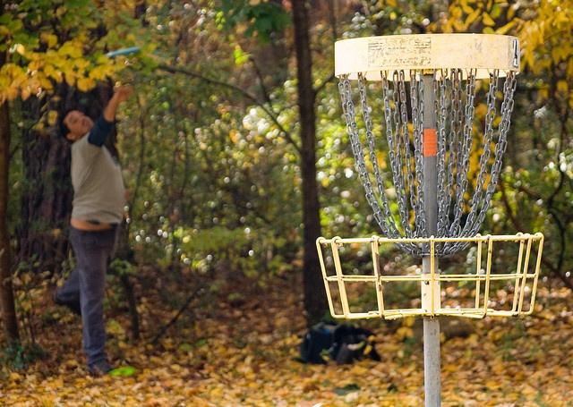 Chapel Hill: Disc golf at outdoor center