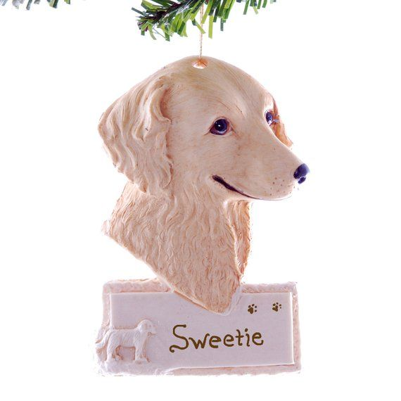 Retriever Golden Personalized Resin Christmas Ornament Loyal
