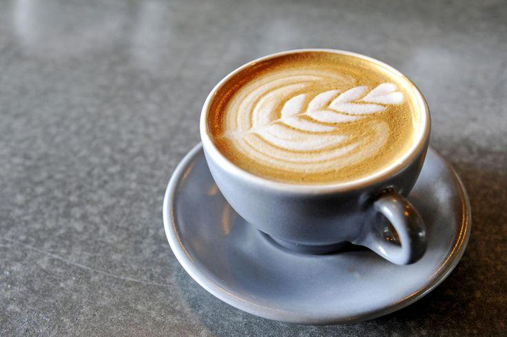 A latte at... -Artifact Coffee - baltimoresun.com