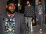 LeBron James grabs dinner with Lakers teammate Anthony Davis after tattoo tributes to Kobe Bryant