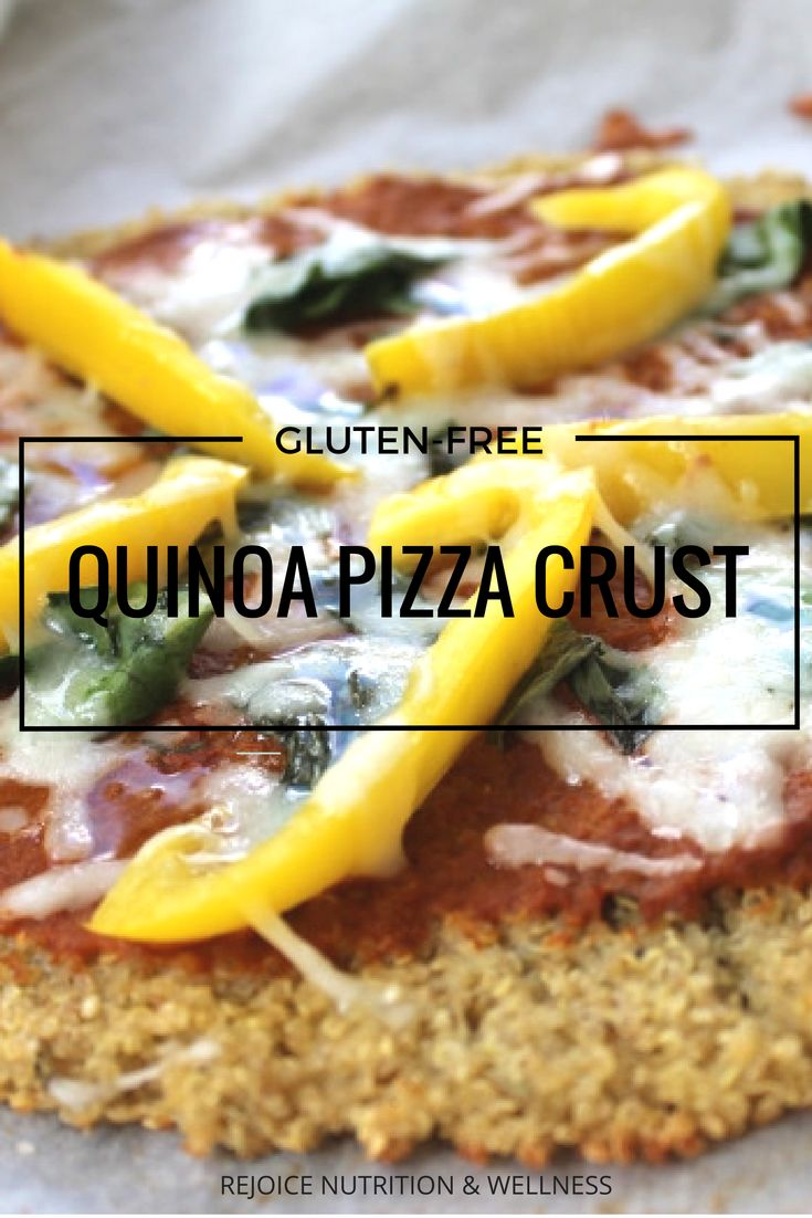 Gluten-Free Perfectly Delicious Pizza Crust. A perfect weeknight dinner