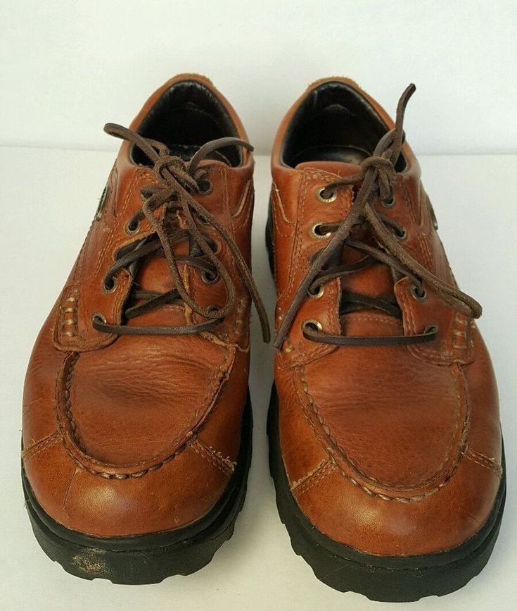 Red Wing Shoes Irish Setter Soft Paws Oxford Brown Walking Mens Size 8 #RedWing