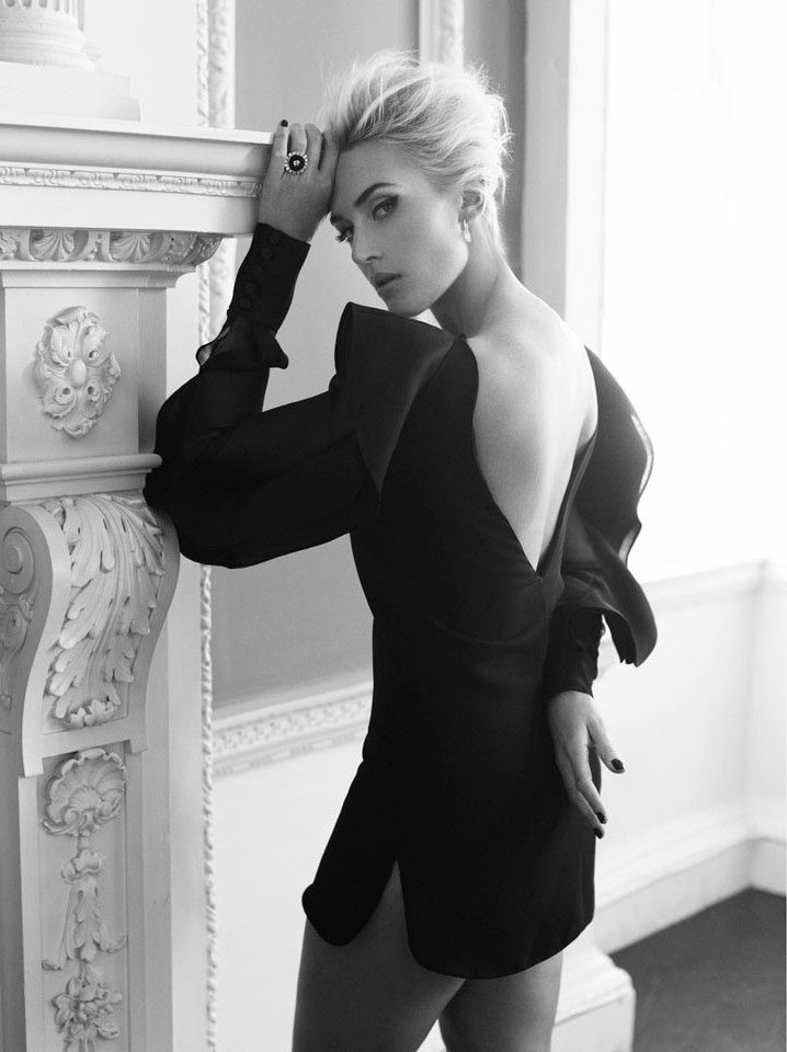Kate Winslet for Harpers Bazaar UK