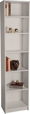 Buy Maine Half Width Tall Extra Deep Bookcase - Putty at Argos.co.uk, visit Argos.co.uk to shop online for Bookcases and shelving units