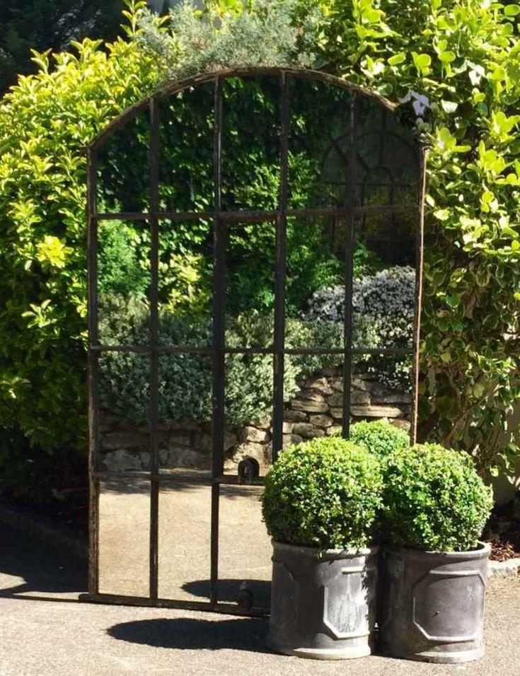 Les 25 meilleures id es de la cat gorie miroirs de jardin sur pinterest miroir ext rieur - Miroir exterieur jardin ...