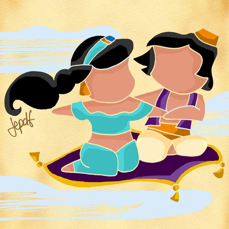 Jasmine & Aladdin