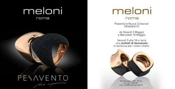 Pesavento News - Pesavento Art Expressions - Made in Italy Jewels