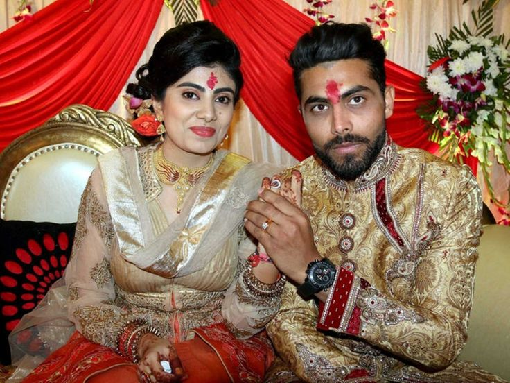 #Indian all rounder #RavindraJadeja got #Engaged