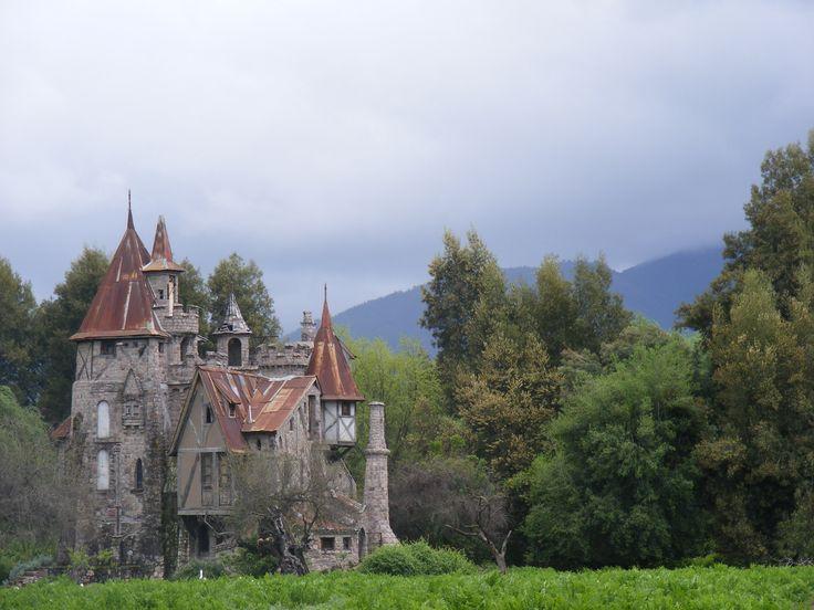 Castle Agua Clara in the Colchagua Valley (Foto: peponna/flickr),#Colchagua