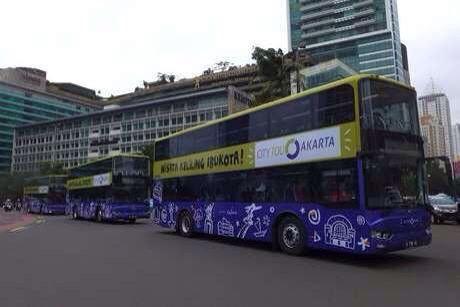 Jakarta City Tour Bus