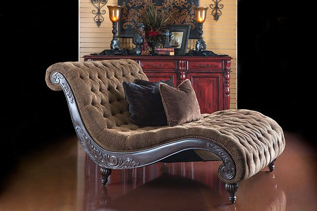 Delilah Cheshire Fur Chaise - I love the furniture collection they have at hemispheres