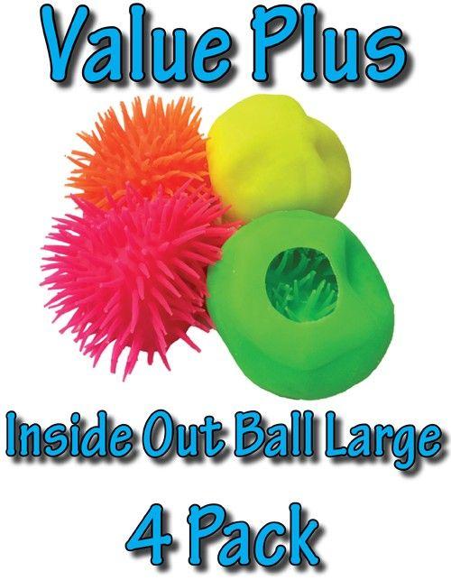 SensoryTools.net Australia - Inside Out Ball - Large - Value Plus (4 Pack)