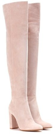 Gianvito Rossi Exclusive To Mytheresa.com – Suede Over-the-knee Boots