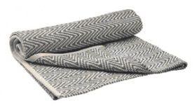 Teppich Zick-Zack grau-weiß 200x140cm €99.00