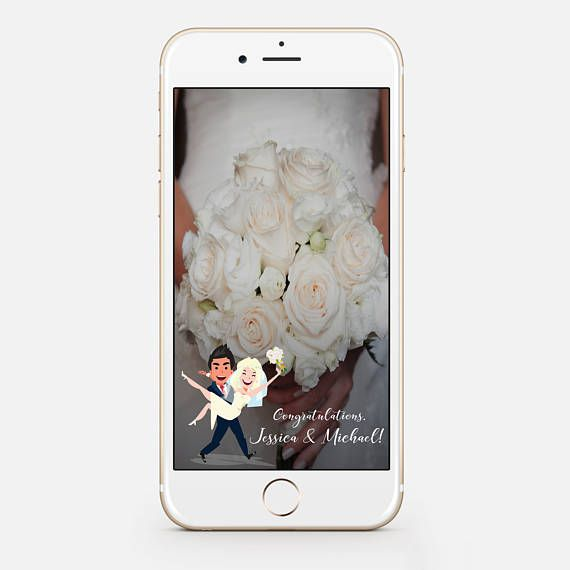 LIMITED TIME DIY Snapchat GeoFilter for Wedding