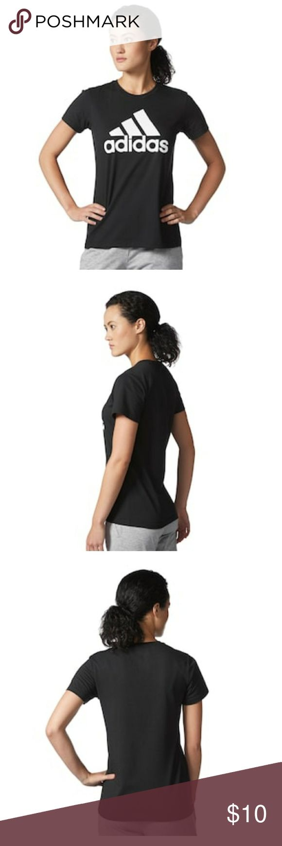 Adidas go to tee Like new no signs of wear. A company classic style. adidas Tops Tees - Short Sleeve