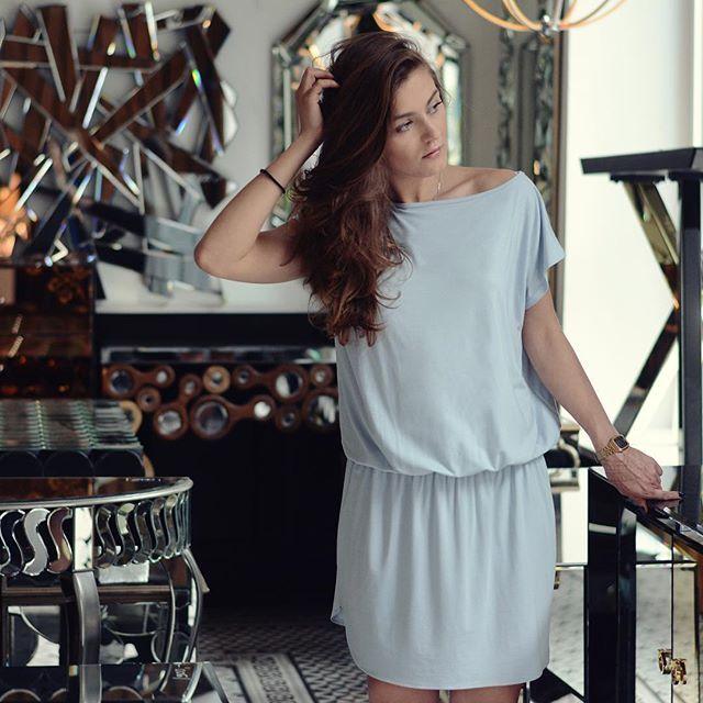 Blue is always a good choice💎💎💎 @xladyblackx in #summerstone #dress…
