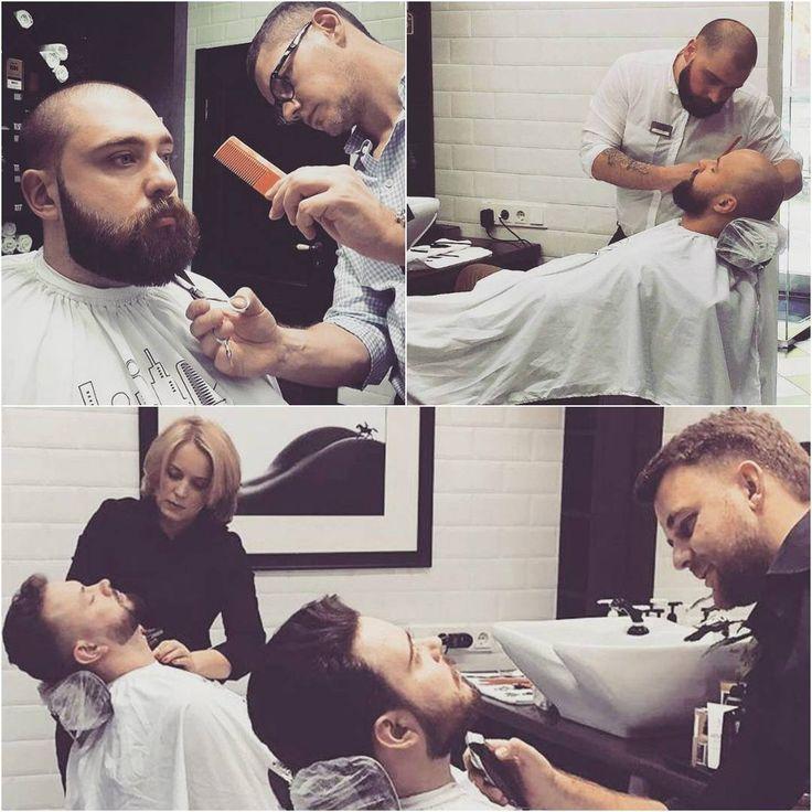 Барбер – это специалист, которому современный мужчина смело может доверить свой образ: стрижку, оформление усов, бороды. На него можно полностью положиться и побаловать себя процедурой королевского бритья. Барбер поможет выбрать уход и стайлинг для волос, порекомендует подходящую к типу внешности укладку и идеальную форму бороды. ⠀ Мы ценим своих гостей и стремимся обеспечивать им максимально комфортное обслуживание. ⠀ Мужская парикмахерская Wall Street - стрижки и бритье высокого класса!