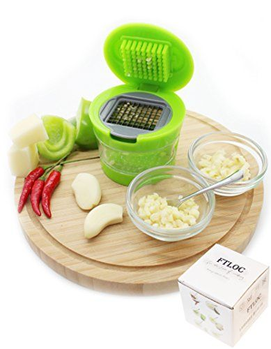Love of Cooking Easy Garlic Press Garlic Chopper on Amazon.com. Love of Cooking Easy Garlic Press Garlic Chopper. 1. OUR PROMISE TO YOU - 100% SATISFACTION GUARANTEE - If you have ANY issue with your Love of Cooking Garlic Press for the LIFETIME of the product simply send us a message and we will ship a BRAND NEW garlic press FREE of charge the same day. 2. Love of Cooking garlic press is made with durable BPA-FREE plastic, the unique design makes crushing, chopping and mincing garlic so…