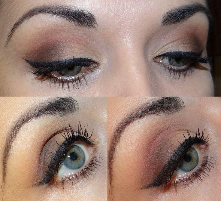 Lastig Drama Maybelline - eyeliner gel review http://www.vintagelooksimona.com/2015/11/eyeliner-gel-maybelline-lasting-drama.html