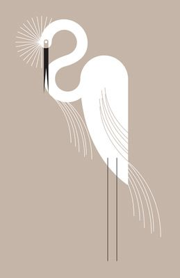 Egrets and herons are the s-curves of the animal kingdom. This snowy egret is simply elegant by Eleanor Grosch