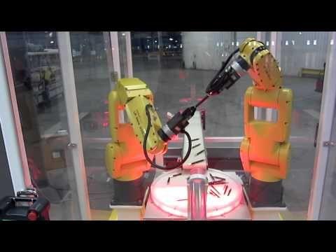 Fanuc Robot Assembly Demo at Tesla