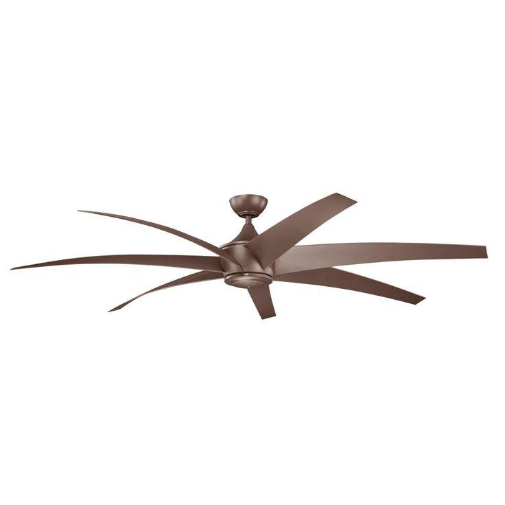 80 inch lehr fan in coffe mocha