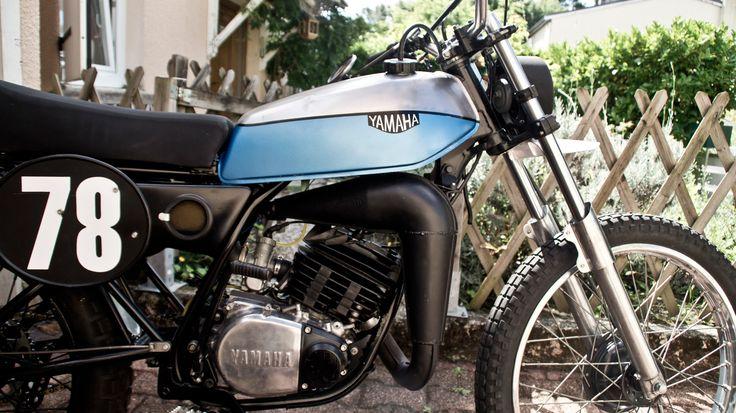 yamaha 125 dtmx moto 125 cc pinterest yamaha custom bikes and scrambler. Black Bedroom Furniture Sets. Home Design Ideas