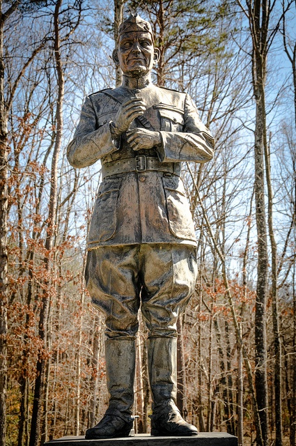 US Marine Corps General John Archer Lejeune Statue at the National Museum of the Marine Corps Quantico VA by mbell1975, via Flickr