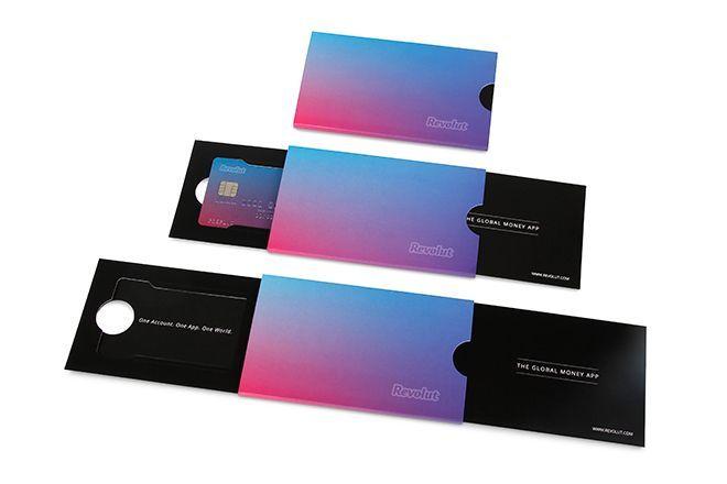Revolut Bank Card Packaging By Burgopak Credit Card Design Card Design Rewards Credit Cards