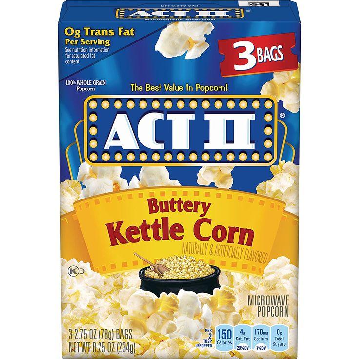 target food court popcorn nutrition information