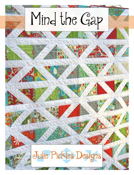 Mind the Gap Quilt Patternpdf by JuliePickles on Etsy, $9.00