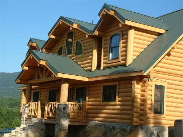 12 best images about roof on pinterest green E log siding