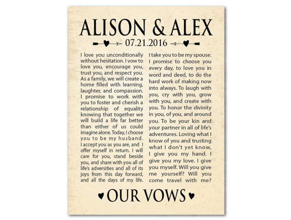 Wedding Wall Art Wedding Wall Decor Our Vows Wedding Etsy Wedding Wall Art Wedding Wall Decorations Wedding Wall