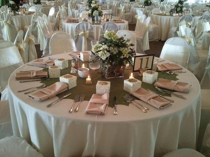 Table decor ~ #WeddingsByNicole