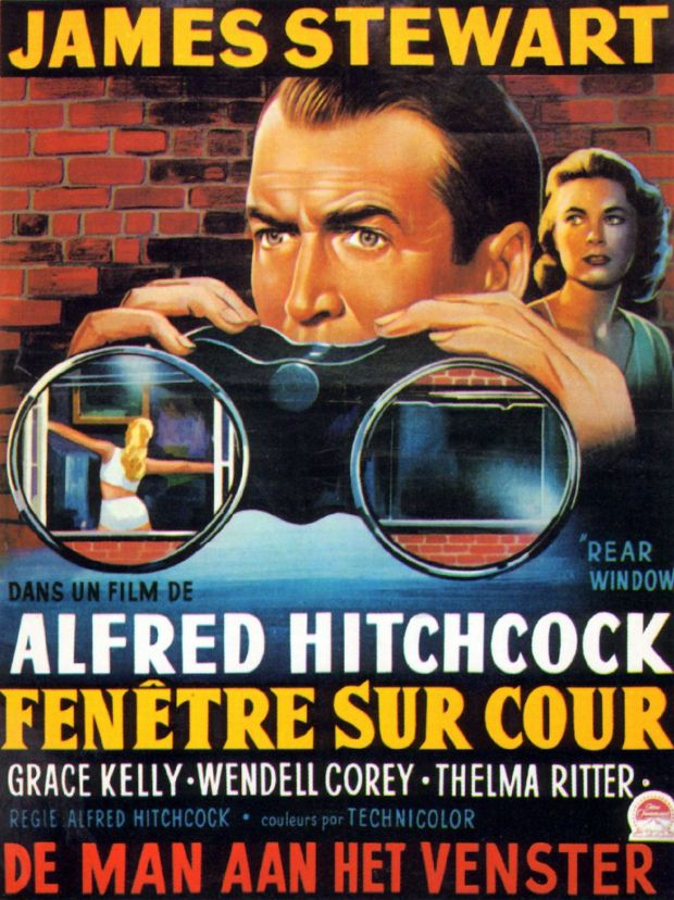 Fenetre Sur Cour Streaming : fenetre, streaming, Greenwich, Village:, Window, Grace, Kelly,, Hitchcock, Film,, Alfred