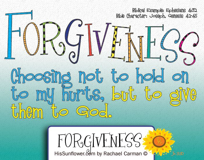 character building forgiveness As you may already suspect, this is not a once-a-day-around-the-table approach to building godly character and to stress forgiveness and affirmation.