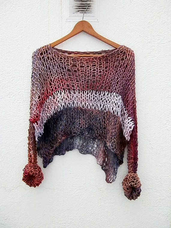 Hand Knitted Sweater by armarioenruinas