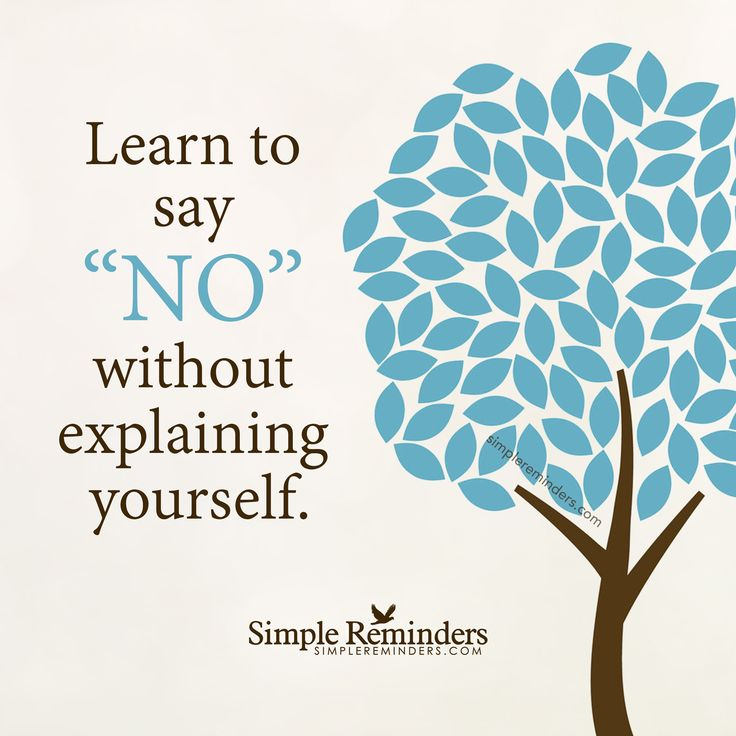 Learn to say no by Unknown Author
