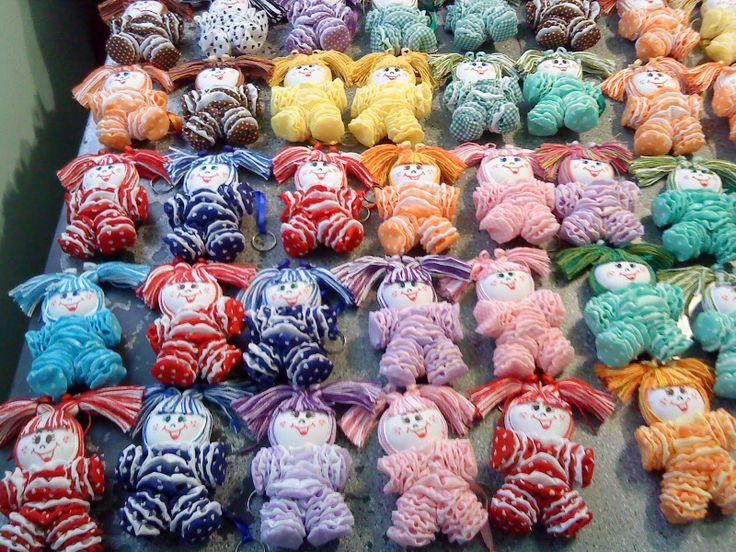 Very cute little yo yo dolls.