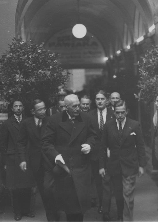 Ignacy Mościcki w Kinie Atlantic (1931) #kinoaltantic