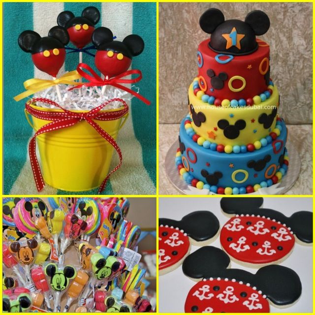 Cool Mickey Mouse birthday party ideas..